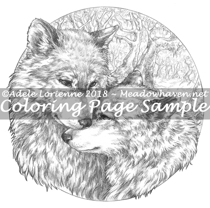 Wolf Coloring Pages | Wolf colors, Animal coloring pages, Anime wolf | 689x695