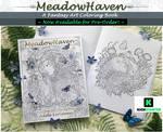 MeadowHaven Fantasy Coloring Book