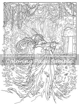 Art of Meadowhaven Coloring Page: Widdenawel
