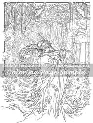 Art of Meadowhaven Coloring Page: Widdenawel