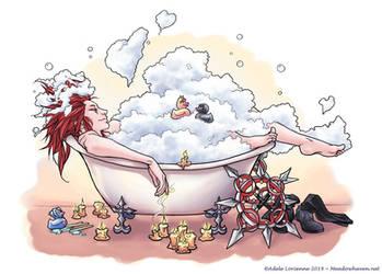 Axel's Bubblebath by Saimain