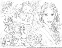 Elerus Sketchpage Commission 31