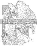 MeadowHaven Coloring Page: Unconditional