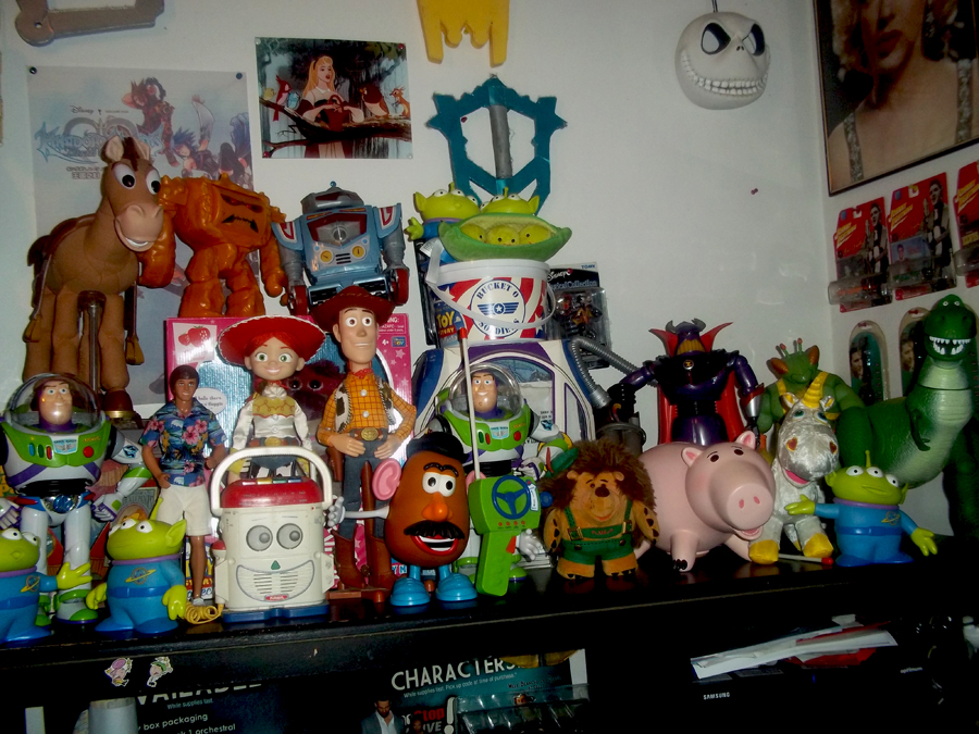 Pixar Toy Story Thinkway Collection Display By