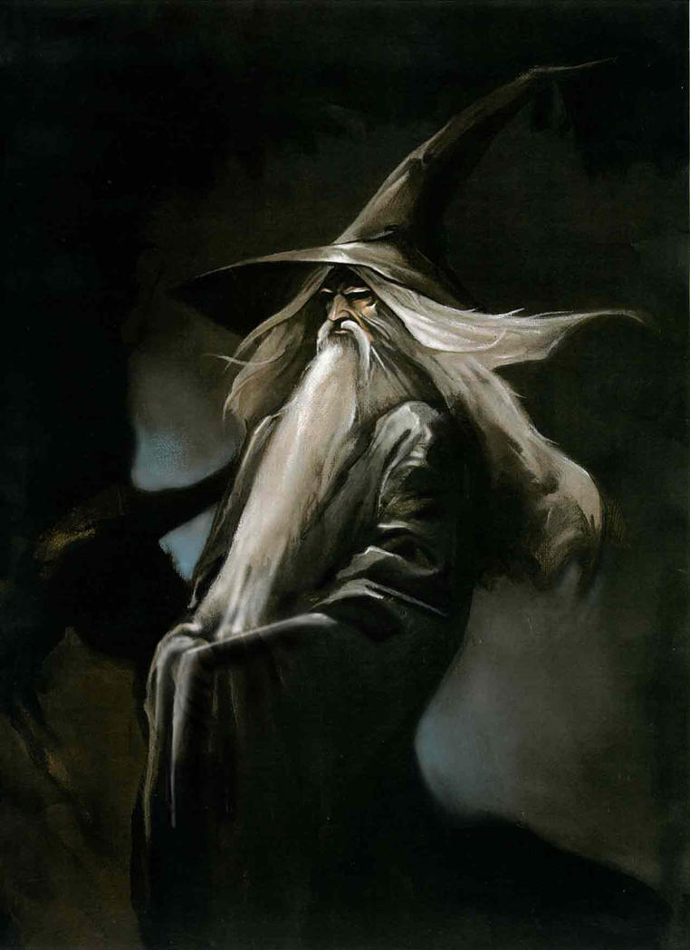 Gandalf balrog falling