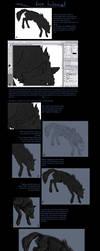 Wolf fur Tutorial by Khalliys
