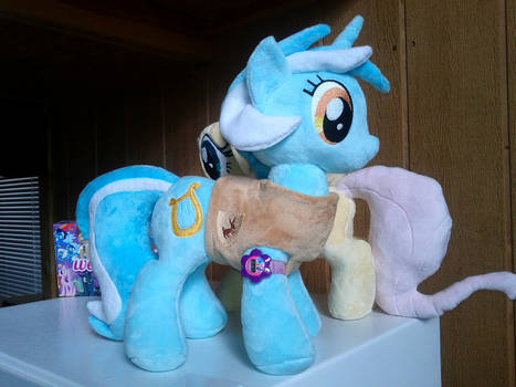Lyra Heartstrings Plush With Winter Wrap-up Vest