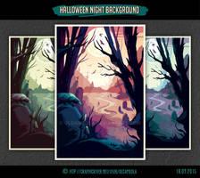 Halloween Night Background #1