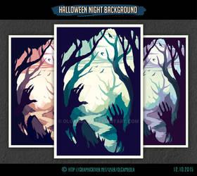 Halloween Night Background #2