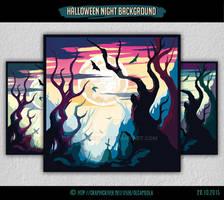 Halloween Night Background #3
