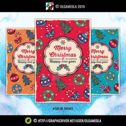 Christmas Greeting Cards Vol.4 (Card #1)