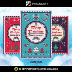 Christmas Greeting Cards Vol.4 (Card #2)