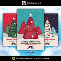Christmas Greeting Cards Vol.4 (Card 3)
