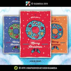 Christmas Greeting Cards Vol.4 (Card 4)