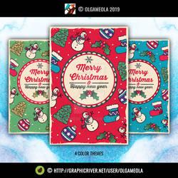 Christmas Greeting Cards Vol.4 (Card 5)