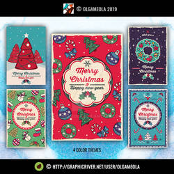 Christmas Greeting Cards Vol.4 (All Cards)