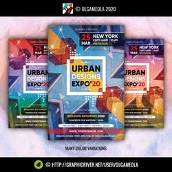 Invitation / Urban Architecture Exhibition Poster