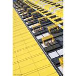Yellow and white diagonal by olgameola