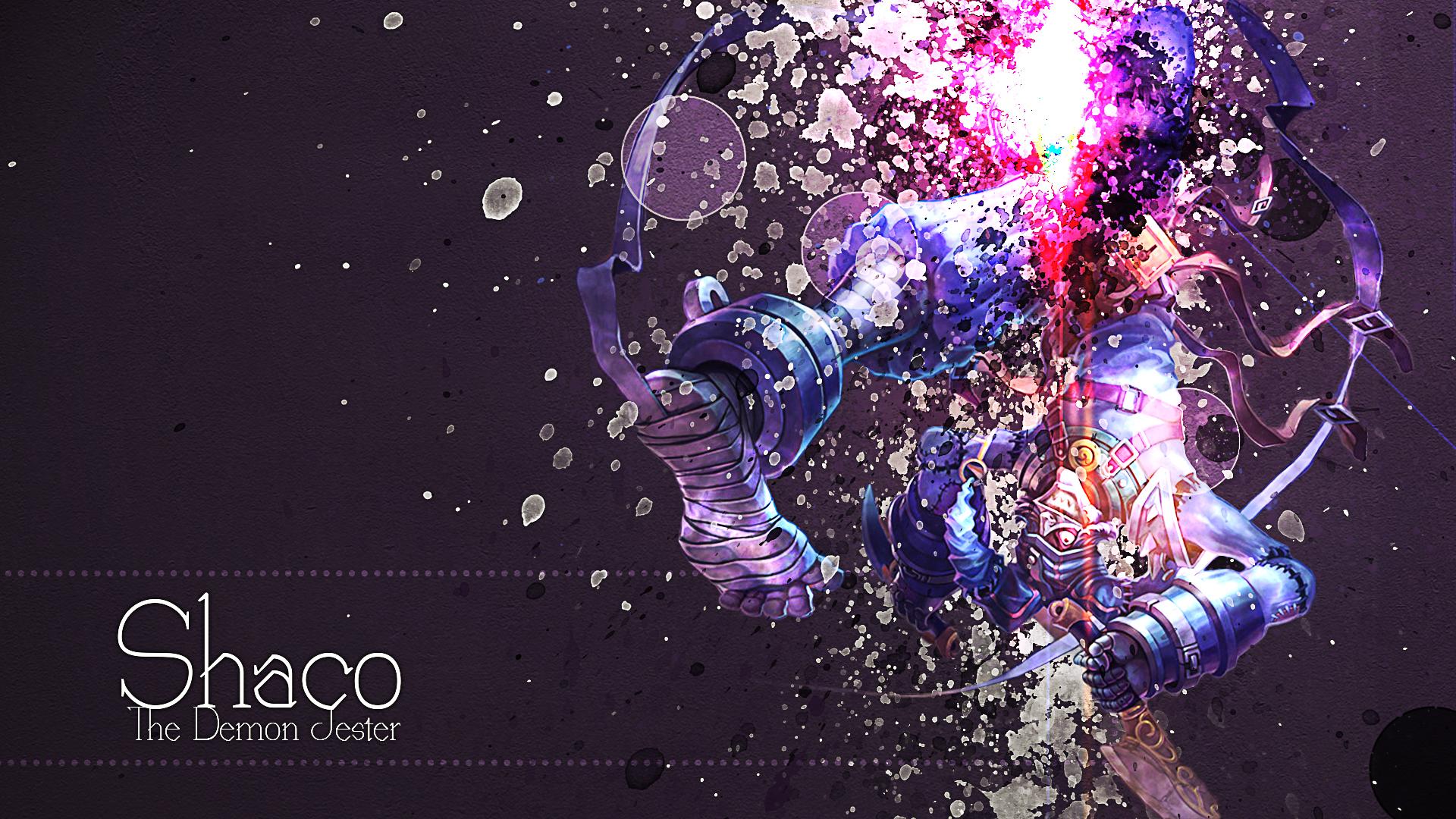 Shaco The demon Jester Fan art wallpaper by mex8 on DeviantArt