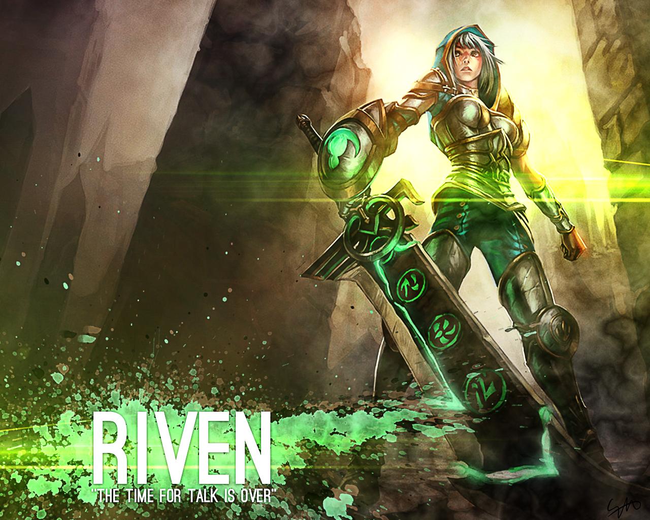 Riven League Of Legends By Mex8 On Deviantart