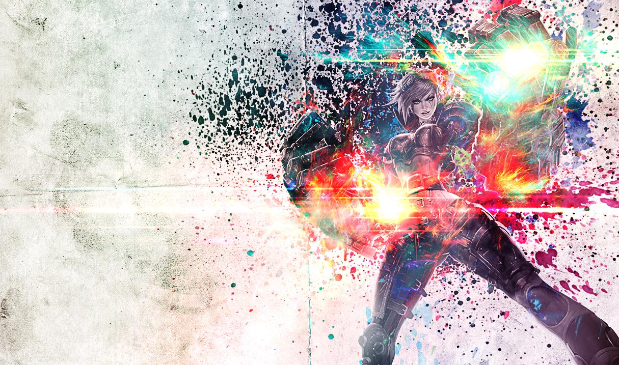 <b>Neon</b> Strike Vi Skin - <b>League of Legends Wallpapers</b>