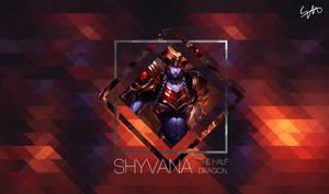 Shyvana The Half Dragon