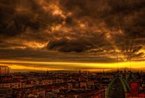 Sky on Fire by Tazmaniac13