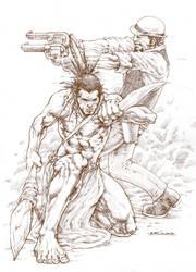 Cowboy n Indian by NgBoy