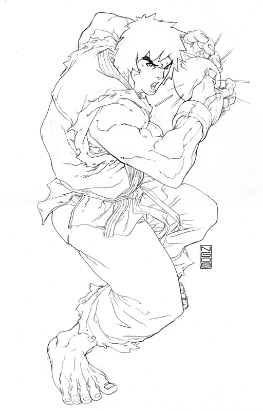 street fighter preview ken by NgBoy