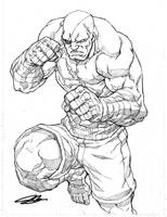 Sagat SDCC 2010 by NgBoy
