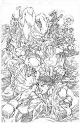 Marvelvs.Capcom 3 promo pencil