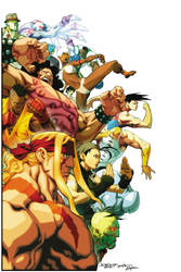 Street Fighter 25th anniversary tribute final by NgBoy