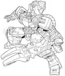 Transformers:Energon Sledge by NgBoy