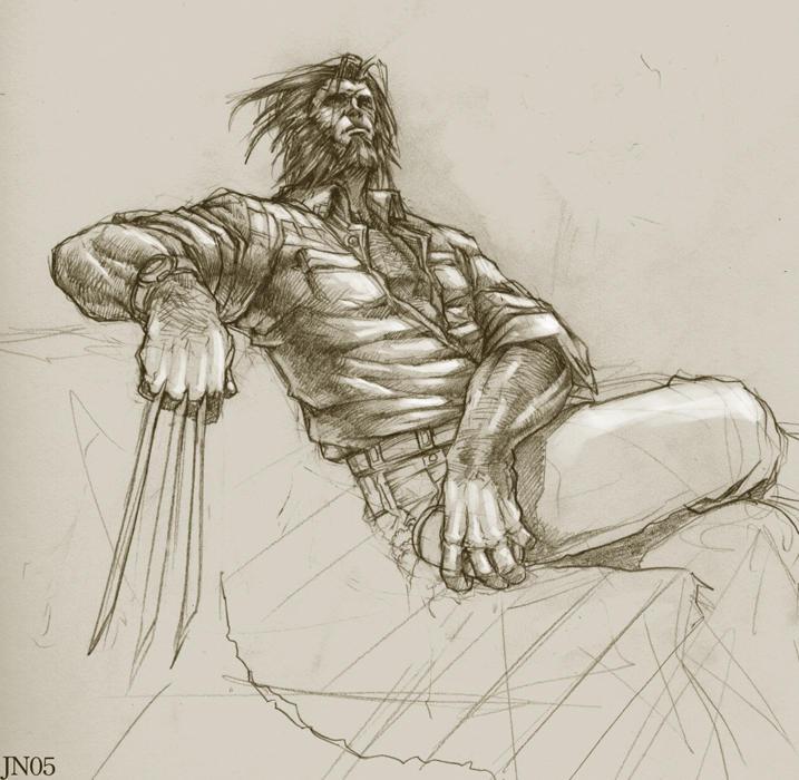 Wolverine aka Logan by NgBoy