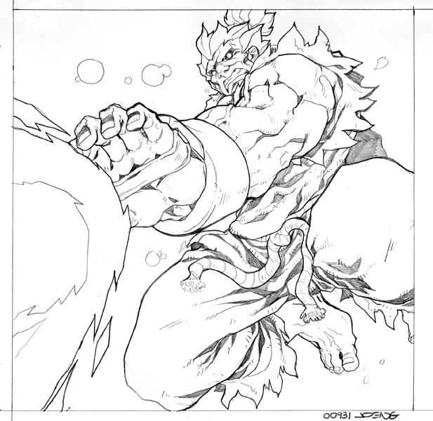 Akuma move card by NgBoy
