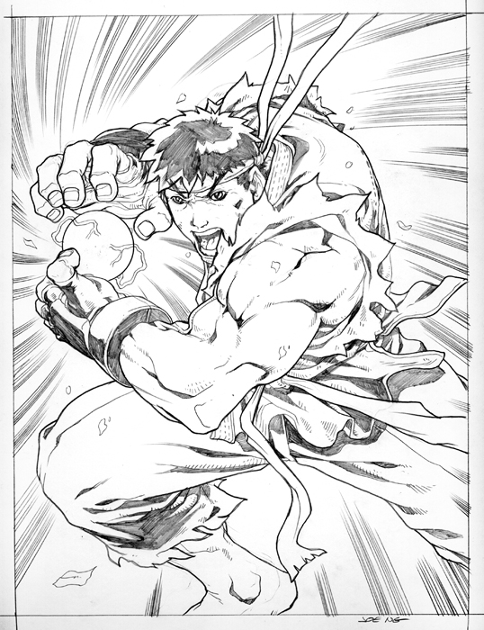 hadoken by NgBoy