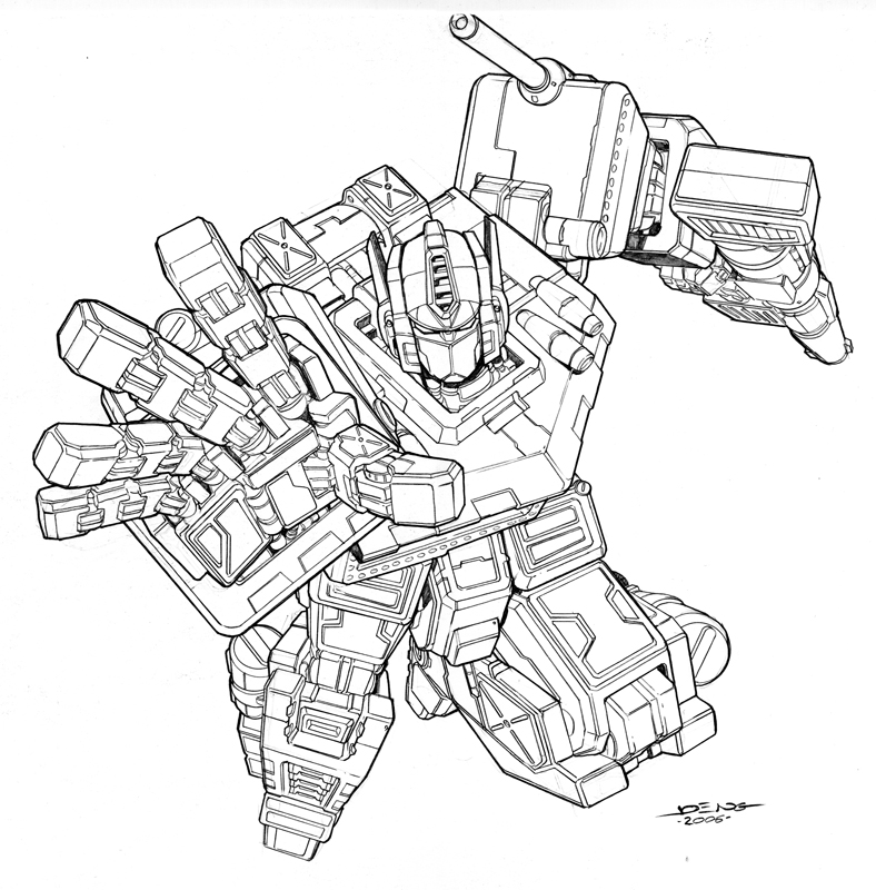 optimus prime coloring pages - optimus prime by ngboy on deviantart