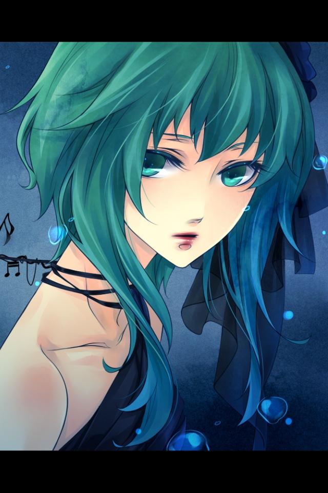 Green Hair Girl DeviantID by VasarosNaktis on DeviantArt