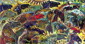 Salpicando en la orilla - 1992