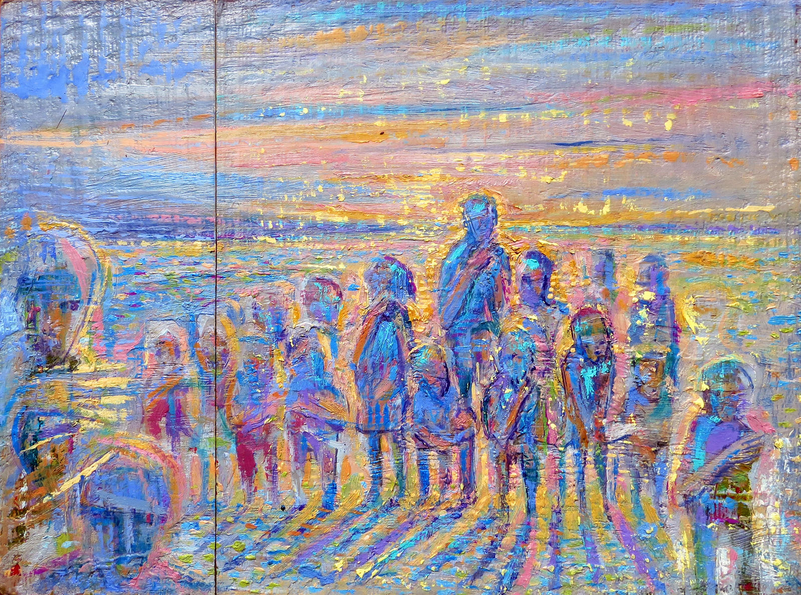 Atmosfera dorada - 1998 by andresbestardmaggio