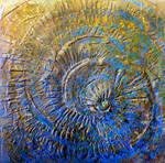 Ammonite espiralado - 2010