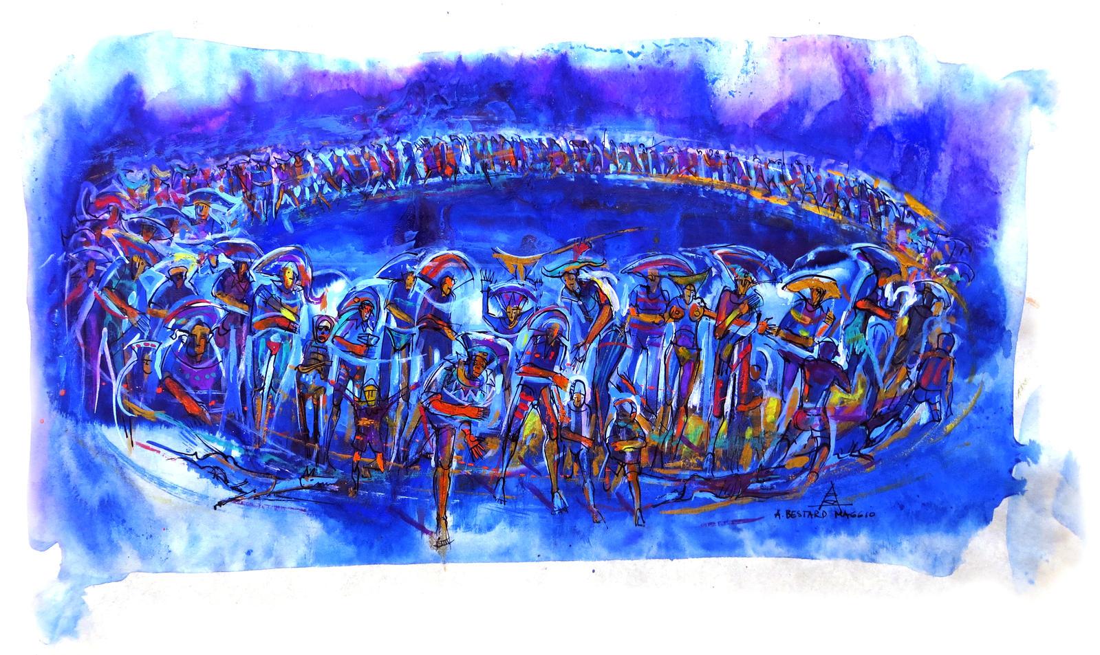 Concentracion circular - 2000 by andresbestardmaggio