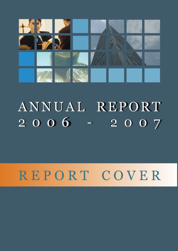Annual Report cover by RedNick75 on DeviantArt