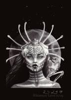 The Bone Goddess by oddballoffun