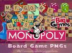 Board Games PNGs