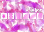 Feather brushes for PS