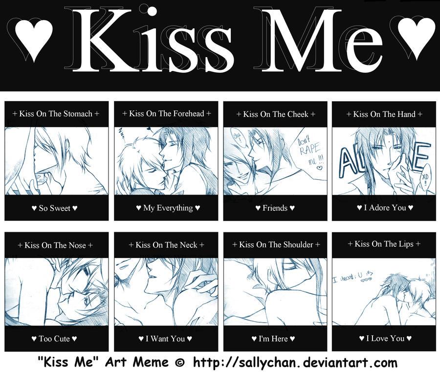 Kiss me meme by Bloodshedera