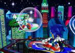 City Top - Sonic vs. Jet