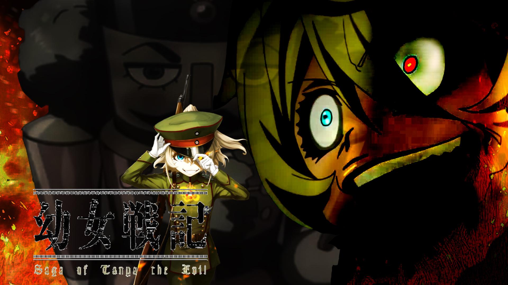 Saga Of Tanya The Evil Wallpaper By Avrilwawe48 On Deviantart