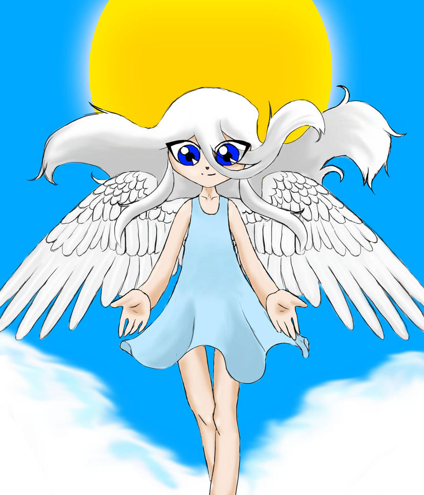 An-angel by Kisara16